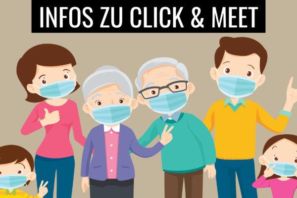 WICHTIGE INFOS ZU CLICK & MEET